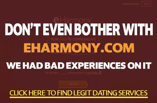 eHarmony.com features