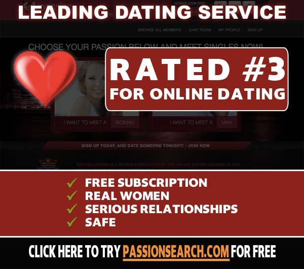 PassionSearch.com features