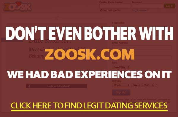 Zoosk.com features